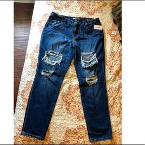 Ripped jeans - 100% cotton